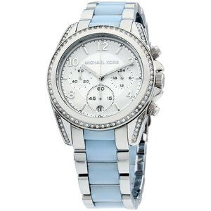 Michael Kors Chambray Blue 39mm Watch